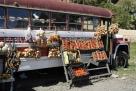 哥斯达黎加的水果摊:像个流动摊点