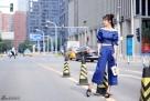 陈紫函最新街拍