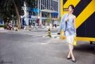 陈紫函最新街拍写真