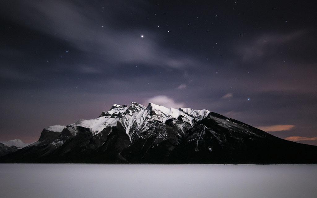 极美丽的冬日雪景