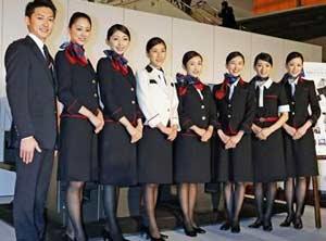 围观各国空姐谁最美?还真是各有特点