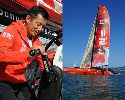 中国职业帆船选手郭川在夏威夷海域失联