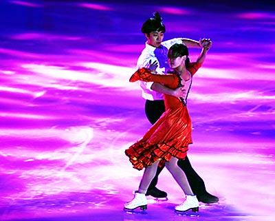首届中俄冬季青少年运动会在哈尔滨开幕