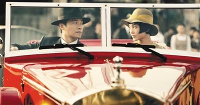 陈思诚郭采洁在剧中饰演情侣、眉目传情。