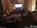 全家看电影