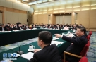 3月5日,中共中央总书记、国家主席、中央军委主席习近平参加十二届全国人大五次会议上海代表团的审议。