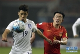 世预赛:中国队战胜韩国队