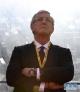 3月28日,中国队主教练里皮在比赛前。
