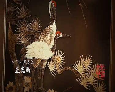 【文化中国】鱼皮画