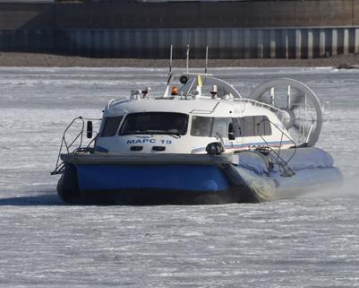 黑龙江黑河:中国至俄罗斯2017年春季气垫船旅客运输正式开通